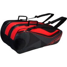 Yonex Active 9 Racket Bag (BAG8729EX) - Black/Red