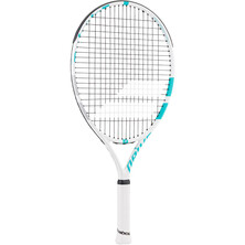 Babolat Drive Junior 23 Tennis Racket White Blue 2018