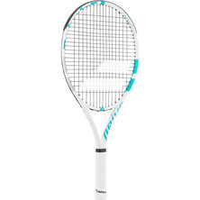 Babolat Drive Junior 25 Tennis Racket White Blue