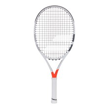 Babolat Pure Strike 25 Junior Tennis Racket White Red