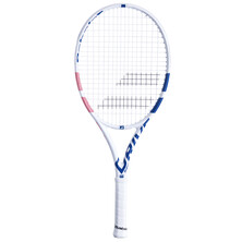 Babolat Pure Drive Junior 26 Tennis Racket White Pink Blue
