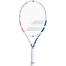 Babolat Pure Drive Junior 25 Tennis Racket White Pink Blue