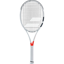 Babolat Pure Strike 26 Junior Tennis Racket White Red