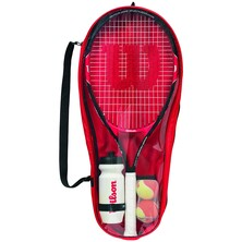 Wilson Roger Federer Starter Kit Set 25 Junior Tennis Racket