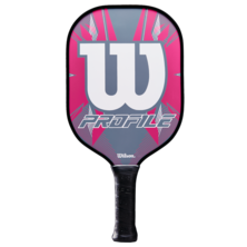 Wilson Profile Pickleball Paddle Grey Pink