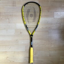 Harrow Shock Squash Racket Black Yellow OUTLET