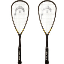 Head i110 Squash Rackets (2 Racket Deal)