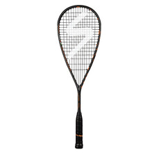 Salming Cannone Powerlite Squash Racket Black Orange