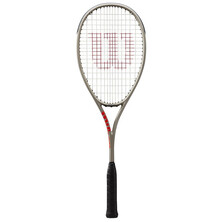 Wilson Pro Staff L Squash Racket Silver Red