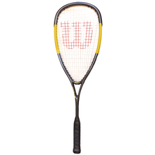 Wilson Hammer Lite 120 Squash Racket - Carbon Black Yellow