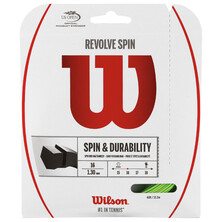 Wilson REVOLVE 16 Tennis String Set 1.3 MM Gauge Green