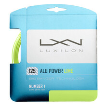 Luxilon ALU Power 125 LE Lime Tennis Restring Upgrade