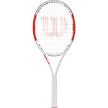 Wilson Six.One Lite 102 White Red Tennis Racket