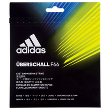 Adidas Uberschall F66 Badminton String Set Yellow