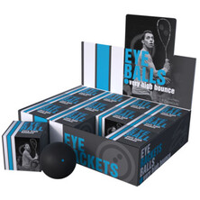 Eye Rackets Squash Balls Blue Dot 1 Dozen