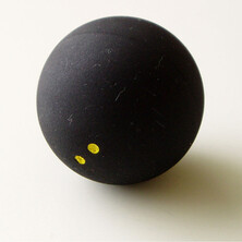 Tecnifibre Squash Ball Double Yellow Dot X1