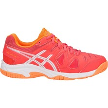 Asics Kids GEL-Game 5 GS Tennis Shoes - Coralicious/White/Orange Pop