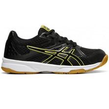 Asics Gel Upcourt 3 GS Junior Indoor Shoe Black Yellow