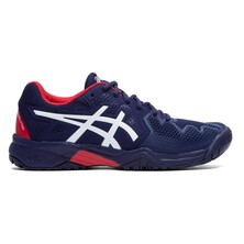 Asics Kids Gel Resolution 8 GS Tennis Shoes Peacoat Red