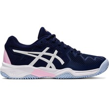 Asics Kids Gel Resolution 8 GS Tennis Shoes Peacoat Cotton Candy