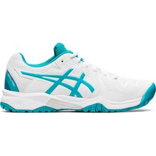 Asics Kids Gel Resolution 8 GS Tennis Shoes White Lagoon