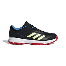 Adidas Court Stabil Junior Shoes - Black Yellow