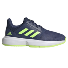 Adidas CourtJam XJ Junior Tennis Shoes Indigo Green