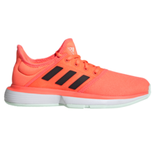 Adidas Sole Court XJ Junior Tennis Shoes Orange