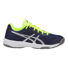 Asics Gel Tactic GS Junior Indoor Shoe Peacoat Silver