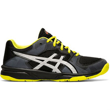 Asics Gel Tactic GS Junior Indoor Shoe Black Silver