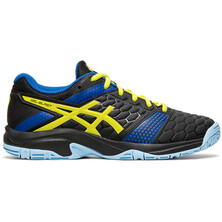 Asics Gel Blast 7 GS Junior Indoor Court Shoe Black Sour Yuzu