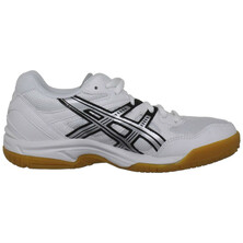 Asics Gel-Doha GS Junior Shoes White Silver Black