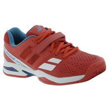 Babolat Boys Propulse 5 Bpm Junior Tennis Shoes Red