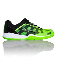 Salming Falco Junior Indoor Shoes Fluo Green Black