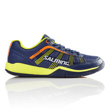 Salming Adder Junior Indoor Shoes - Blue/Yellow