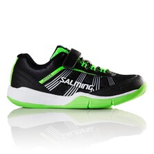 Salming Adder Kid Junior Indoor Shoes Black/Green