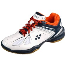 Yonex SHB 35 Junior Badminton Shoes - White Orange