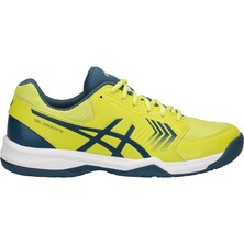 Asics Gel Dedicate 5 Men's Tennis Shoes Sulphur Spring/Ink Blue/Silver