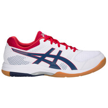 Asics Gel Rocket 8 Men's Shoes White Deep Ocean