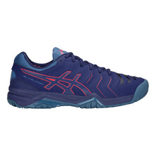 Asics Gel Challenger 11 Men's Tennis Shoes Blue Print Red Ale