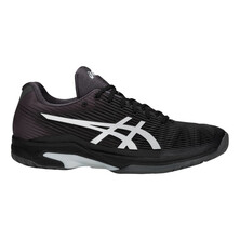 Asics Gel Solution Speed FF Men's Tennis Shoe Black Silver