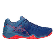 Asics Gel Resolution 7 Men's Tennis Shoes Blue Print