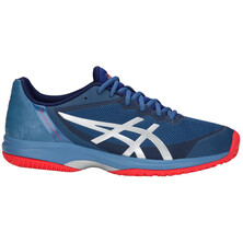 Asics Gel Court Speed Mens Tennis Shoe Azure Blue Print