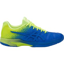 Asics Gel Solution Speed FF L.E Men's Tennis Shoe Flash Yellow