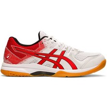 Asics Gel Rocket 9 Men's Shoes White Classic Red