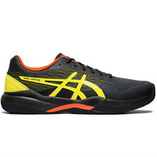 Asics Gel Game 7 Men's Tennis Shoes Black Sour Yuzu