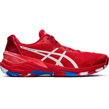 Asics Gel Sky Elite FF Men's Indoor Court Shoes Classic Red White