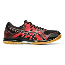 Asics Gel Rocket 9 Men's Shoes Black Fiery Red