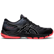 Asics Gel Beyond 6 Men's Indoor Court Shoes Black Sunrise Red