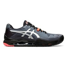 Asics Gel Resolution 8 L.E. Men's Tennis Shoes Black Sunrise Red